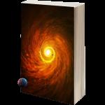Un livre ouvrant sur d'autres dimensions