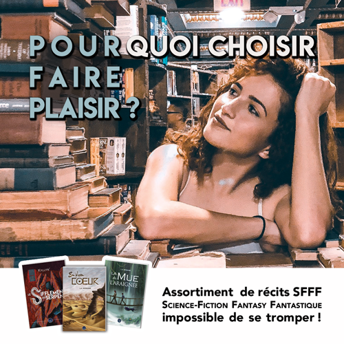 Pack livres SFFF - Science-Fiction, Fantastique, Fantasy