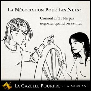 La Gazelle Pourpre, L.A. Morgane, vignette