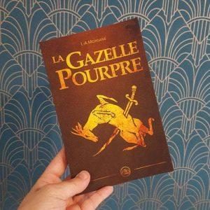 La Gazelle Pourpre, L.A. Morgane, couverture