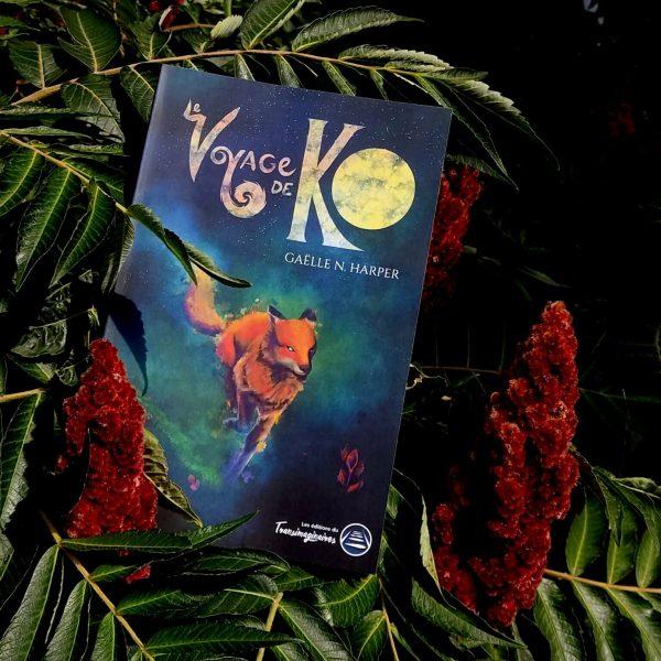 Le Voyage de Ko, Gaëlle N. Harper, parmi les fleurs