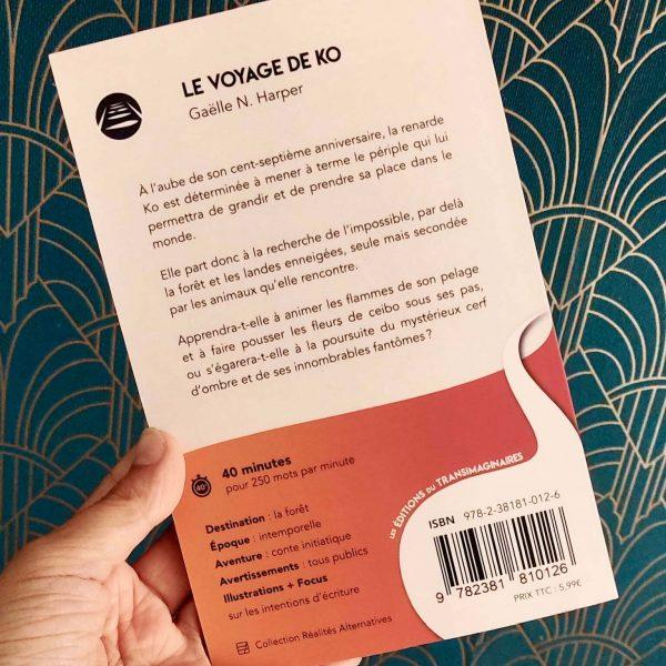 Le Voyage de Ko, Gaëlle N. Harper, 4ème de couverture